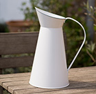 Waitrose large powder coated jug