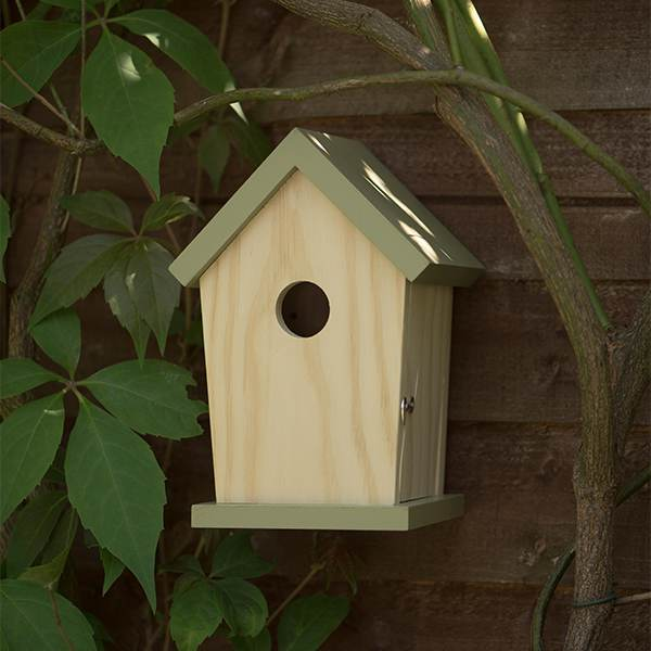 Waitrose FSC bird house
