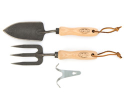 De Wit trowel and fork set