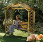 Dartmouth swing seat arbour