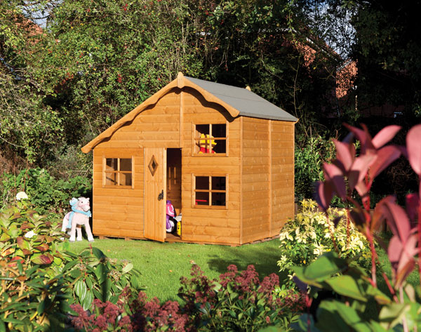 Playaway swiss cottage playhouse