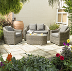 Bunbury rattan set
