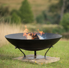 Disc brazier with tripod base