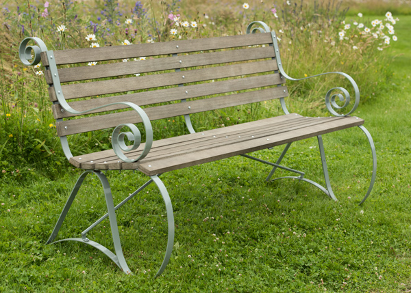 Montpellier bench - lavender green