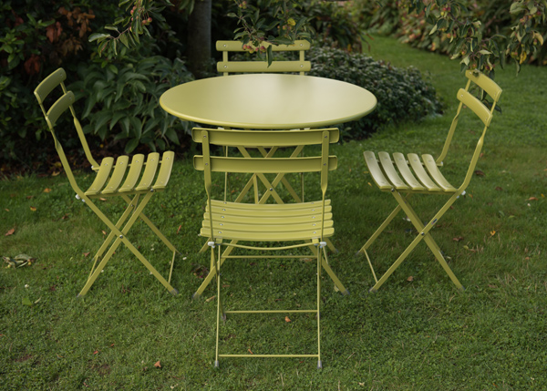 Buy Rome Folding Chair Set Of 2 Green Delivery By Waitrose Garden In Assoc