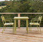 2 Seat Florence dining set - green