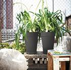 Loft urban round high pot, 35cm