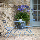 French bistro set - blue