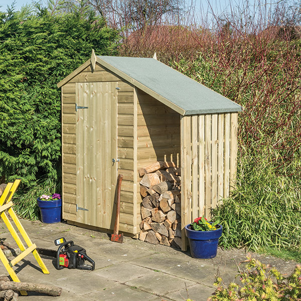 Oxford shed with lean to
