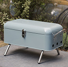 Waitrose retro portable barbecue grey