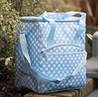 Waitrose polka dot family cool bag 30L