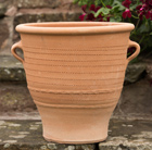 Thrapsano terracotta pot