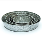 Galvanised tray