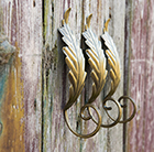Oak leaf wall hook