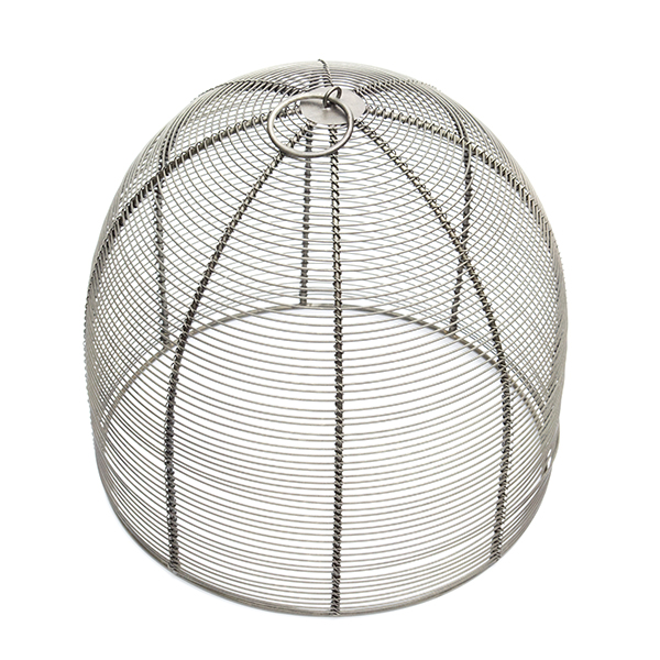 Coiled wire cloche