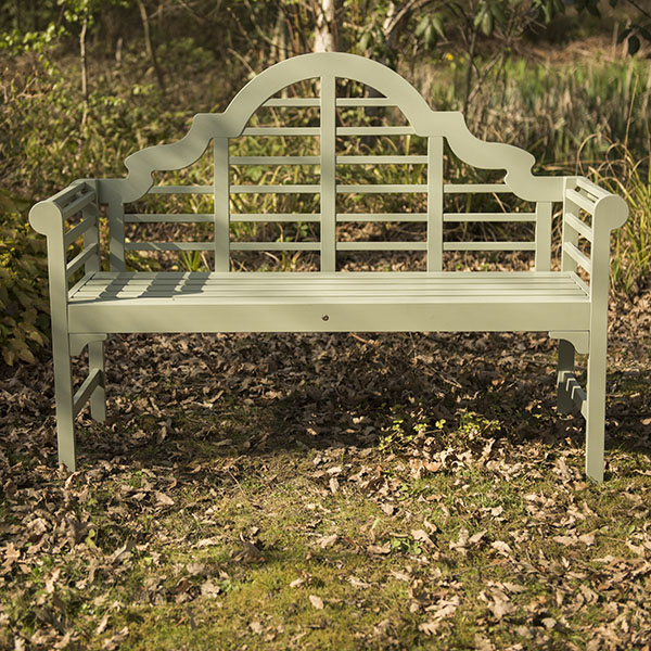 Buy lutyens bench seagrass delivery by waitrose garden for Seagrass landscaping