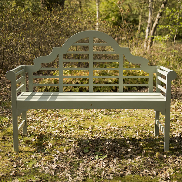 Buy lutyens bench seagrass delivery by waitrose garden for Seagrass for landscaping
