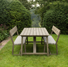 Oban rattan dining set