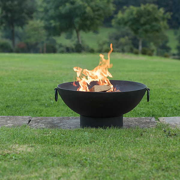 Small brazier bowl with strip base