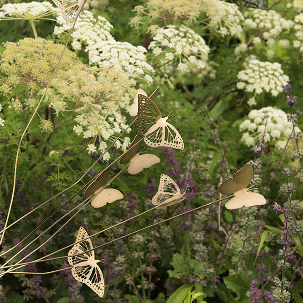 Buy butterfly stake for Outdoor butterfly ornaments