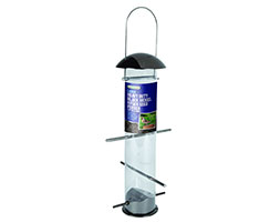 Click to view product details and reviews for Heavy Duty Black Nickel Nyjer Seed Feeder.