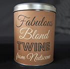 Retro tin of twine