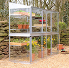 Aluminium growhouse 1.83m