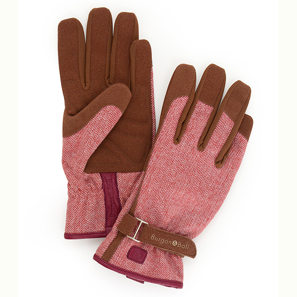 Love the glove red tweed