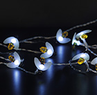 20 solar white LED multi function bees