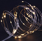 100 solar warm white LED copper wire multi function lights