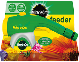 Image of Miracle gro feeder