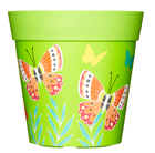 Butterflies in flight pot
