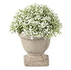 Artificial dianthus potted