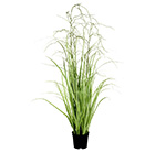 Artificial wild grass potted