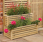 Garden creations outdoor tiered planter