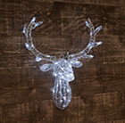 Acrylic LED deer head 62cm