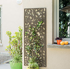 Decorative metal screen