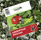 Ladybird food and attractant