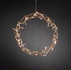 Copper metal wreath