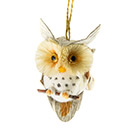 Natural/cone owl decoration