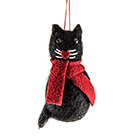 Cat eco wool decoration