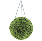 Artificial hanging buxus ball