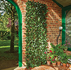 Artificial laurel leaf trellis