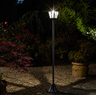Whitehall solar lamp post