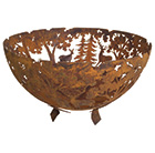 Ornamental fire bowl