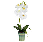 Artificial potted orchid