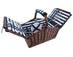 4 person breton wicker basket