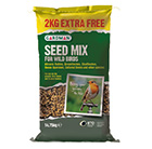 Seed mix 12.75kg + 2kg extra free