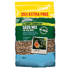 No grow seed mix 2kg + 25% extra free