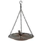 Hanging bird bath with gift box